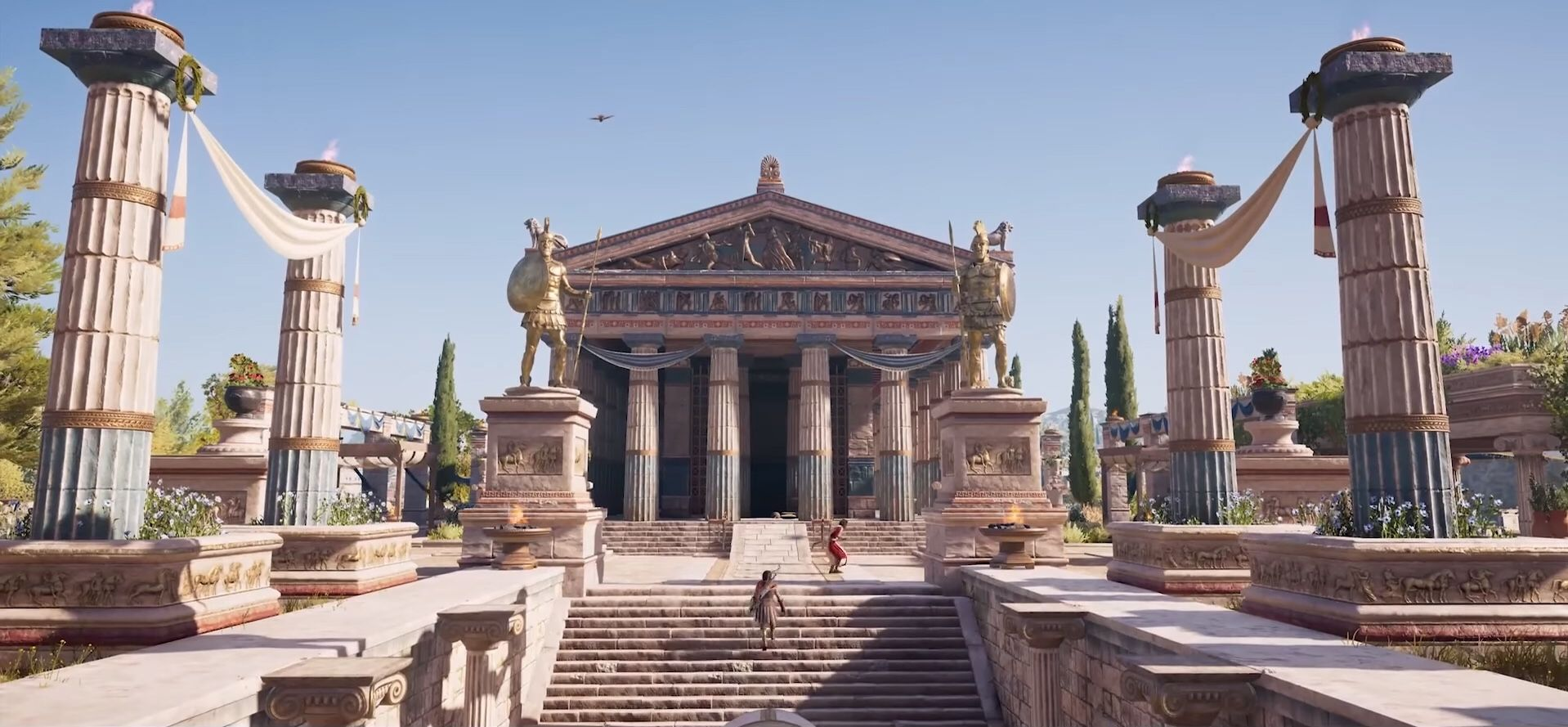 The Temple Of Hephaestus Is A Doric Peripteral Temple And
