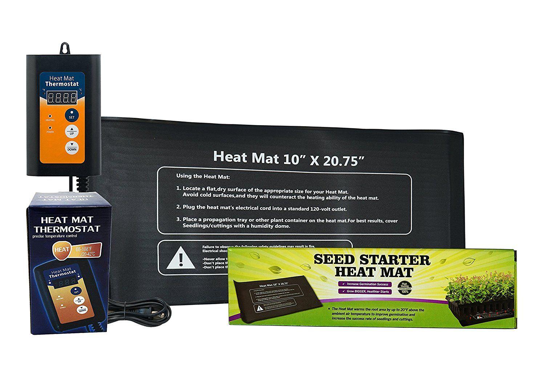 ™ 10'x20' Seedling Heat Mat for Propagation