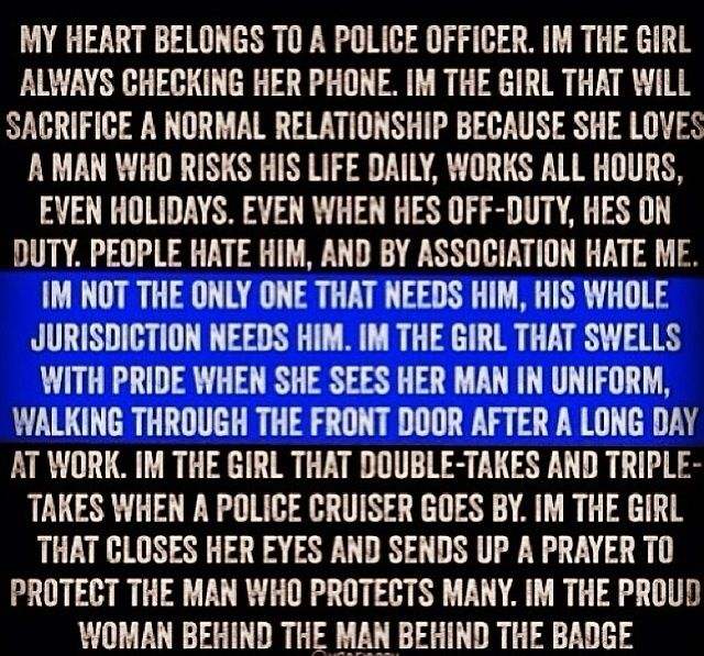 Police officer girlfriend | Police officer/national guard ...