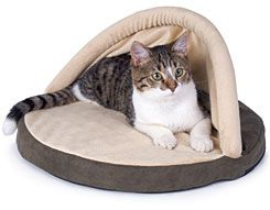 Thermo Kitty Hut Heated Cat Bed Cozywinters Heated Cat Bed Cat Bed Dog Pet Beds