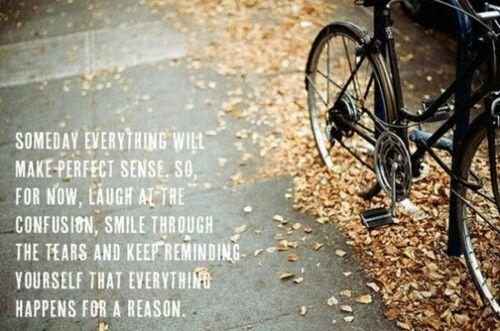 Everything will make sense