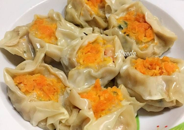 Resep Dimsum Ayam Udang Siomay Ayam Udang Oleh Alrinda Resep Makanan Resep Adonan
