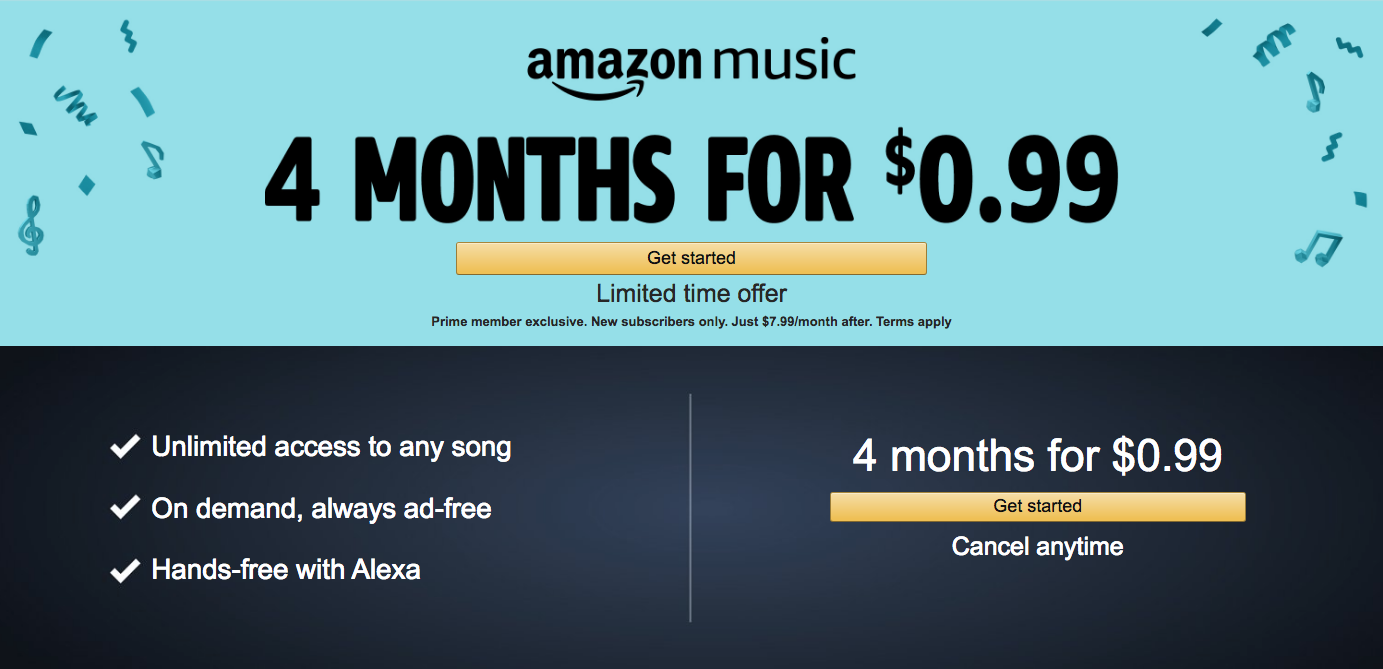 Amazon Music Unlimited Prime Day Deals Amazon Prime Day Music