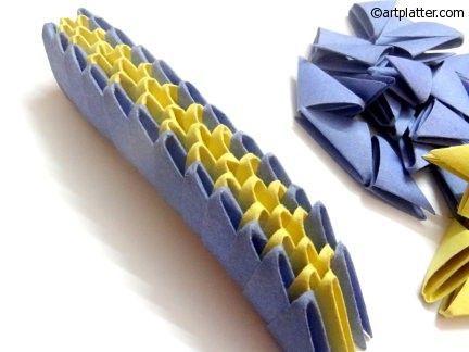 Photo of 3D Origami Dragon – Tutorial • Art Platter – 3D Origami Dragon – Tutorial …