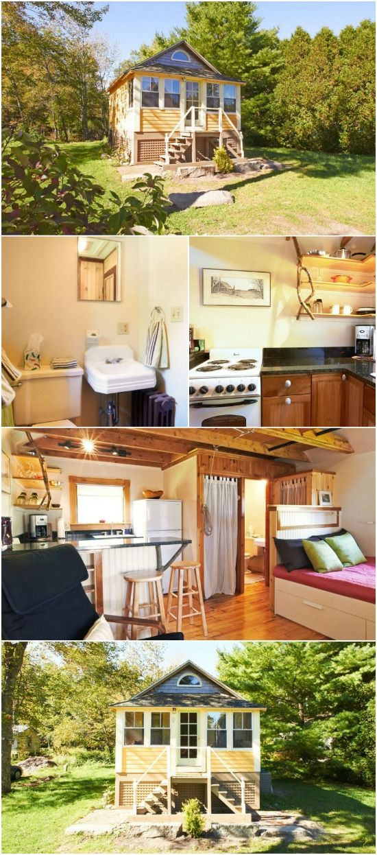 Experience Tiny Living By Rentin This Cozy Tiny Cottage In