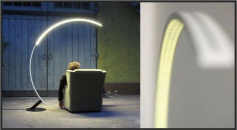 Floor Led Lamps: 17 Best images about Led Ideas on Pinterest | Floor lamps, Lamp bulb and  Curtain lights,Lighting