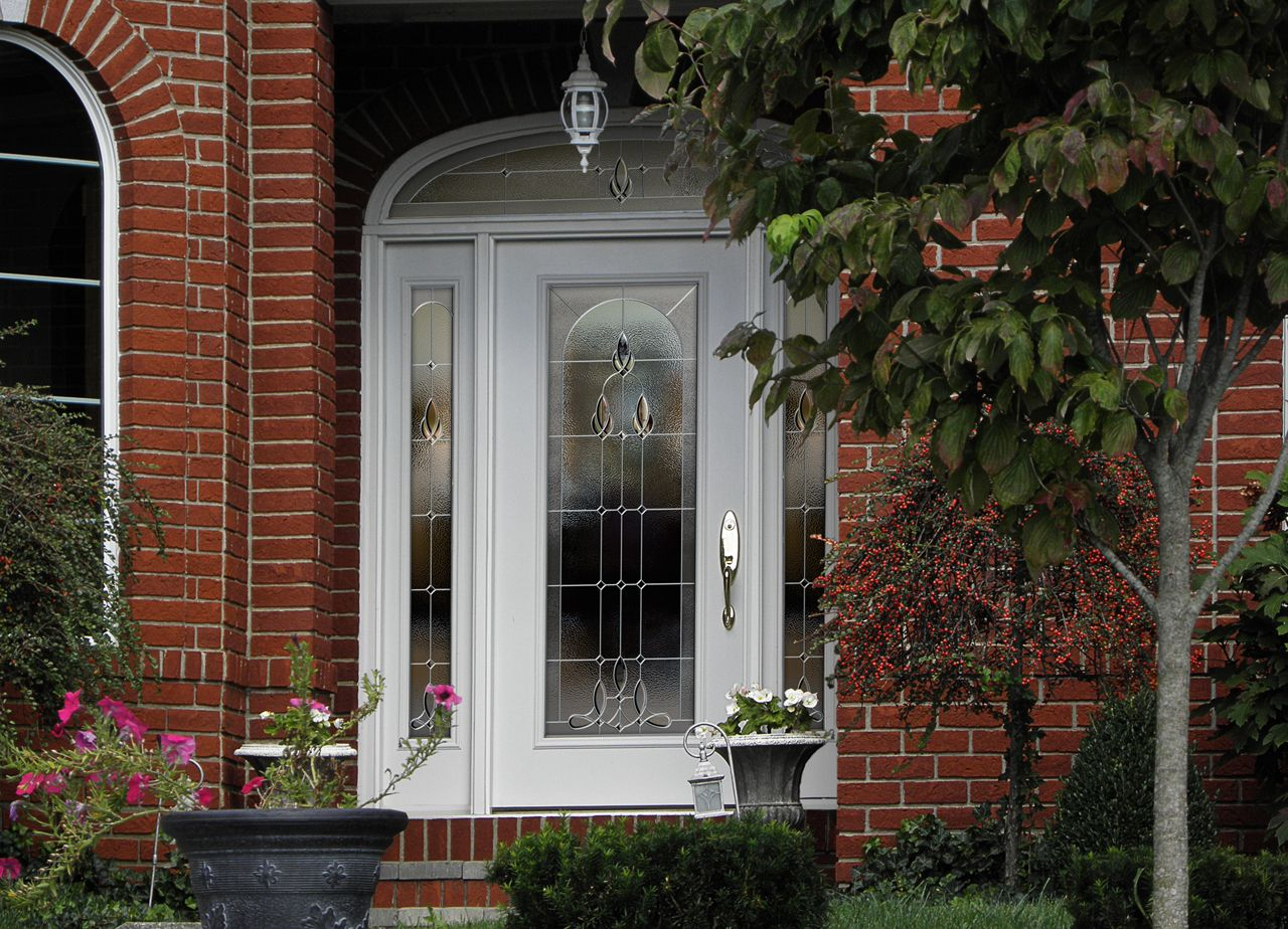 Storm doors · Striking and beautiful ProViau0027s decorative glass will make an unforgettable first impression. & Striking and beautiful ProViau0027s decorative glass will make an ...