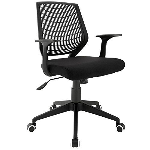 LexMod Entrada Office Chair, Black $ 57.25 Office Desk Chairs Product Features Black foam padded mesh seat Nylon base and frame Naturally form-fitting back Sturdy armrests White-Toned wheels Office Desk Chairs Product Description Place yourself in good stead with the Entrada office chair constructed of sturdy nylon and a spacious foam padded mesh seat. Purposefully simple, the Entrada chair assists […] http://www.bigofficefurniture.com/lexmod-entrada-office-chair..