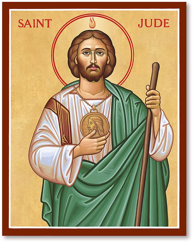 a7e4b8a58eb Saint Jude the Apostle icon