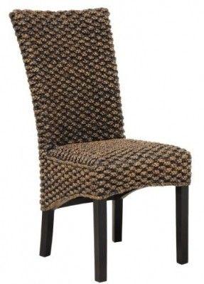 Tristan Water Hyacinth Chair Rattan Dining Furniture