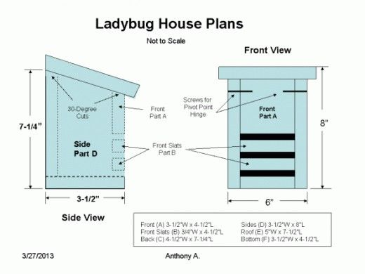 ladybug house plans how to build a ladybug house - Versand Container Huser Plne Pdf
