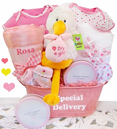 Special girl delivery baby gift basket personalization avail special girl delivery baby gift basket personalization avail free shipping negle Images