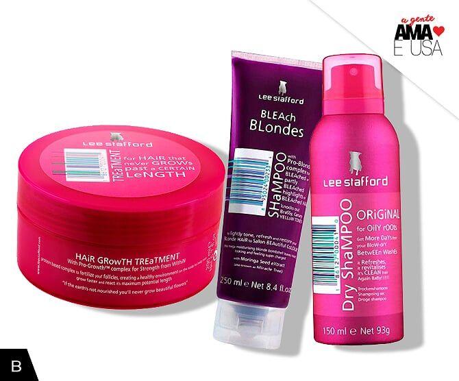Os melhores produtos da Lee Stafford você encontra na BeautyList.