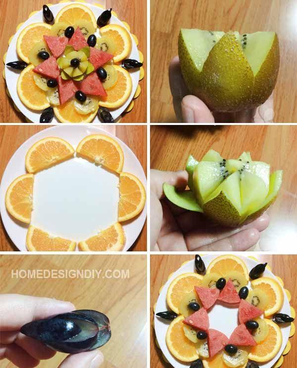 simple food decoration ideas - Food Design Ideas