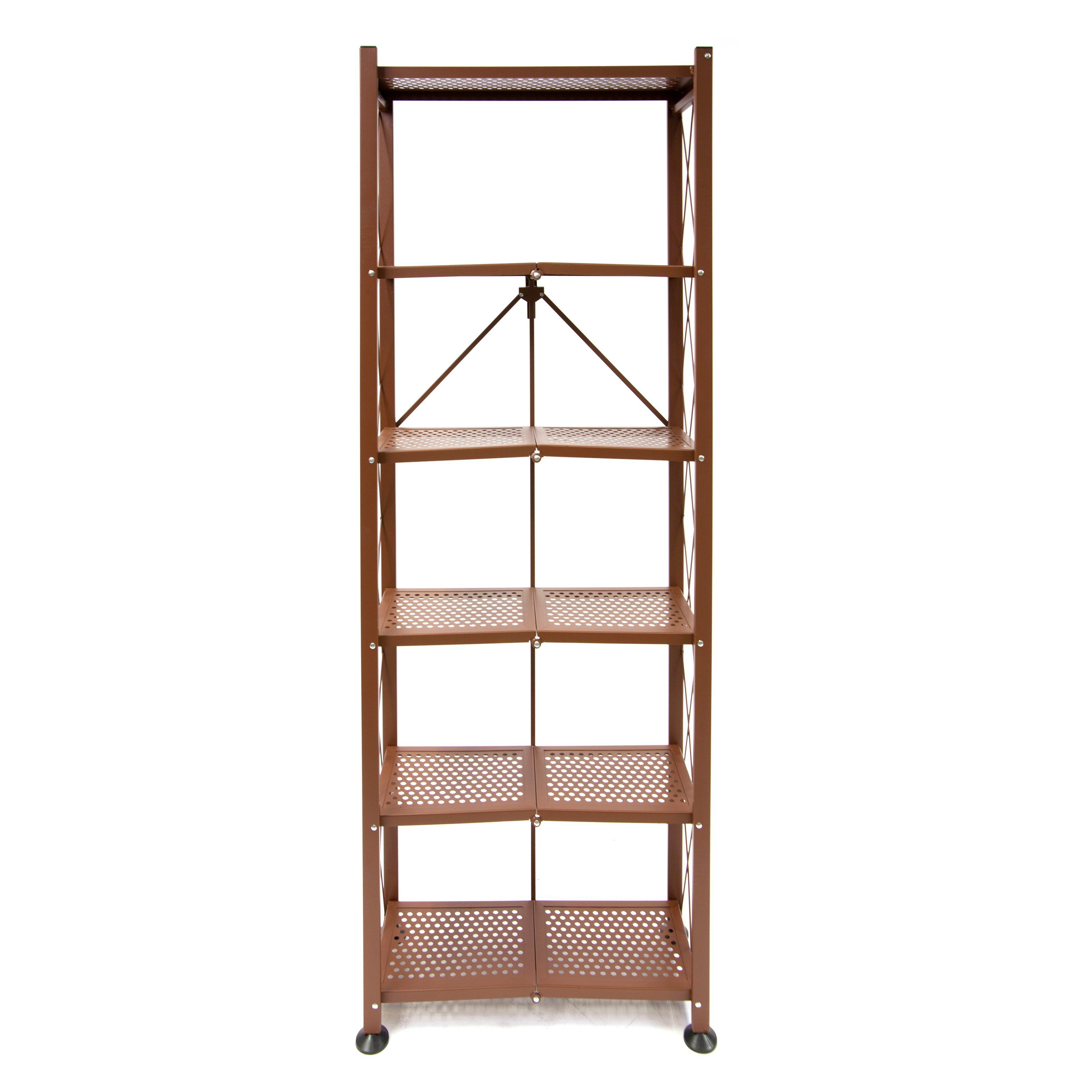 stackable tier bookshelf folding hayneedle cfm bookcase product