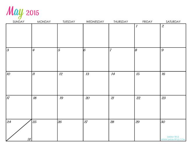 online calendars 2015