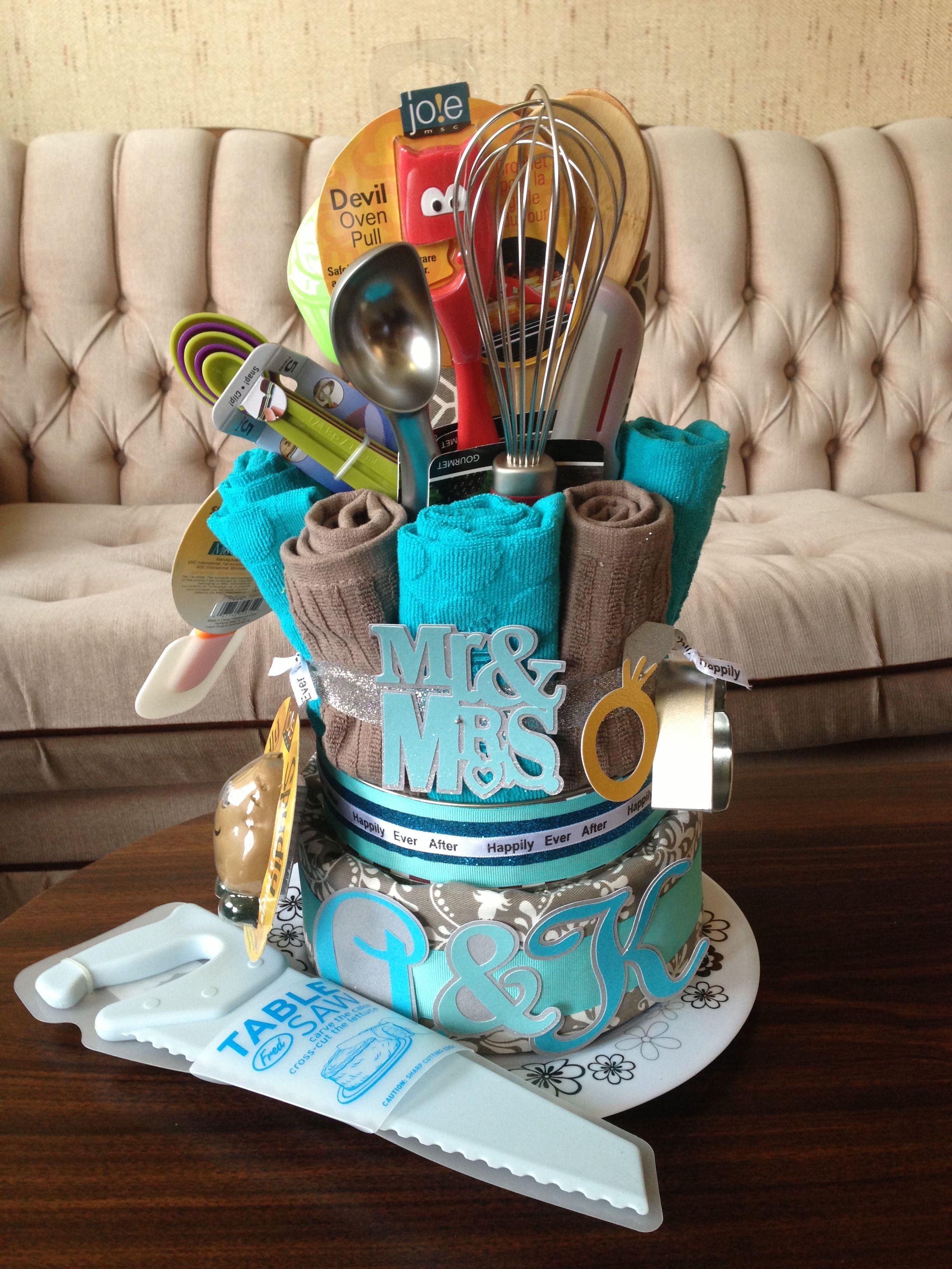 Wedding Shower Kitchen Cake