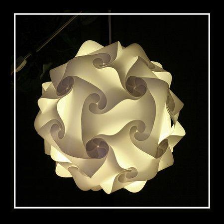 Products Puzzle Lights Unique Lighting Fixtures Lamp Shades For Weddings Events Restaurant Pantallas De Lamparas Manualidades Centros De Mesa Para Boda
