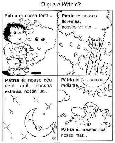 Profª Ivani Ferreira Atividades Para Semana Da Patria 07 De