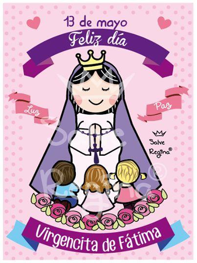 Resultado De Imagen Para Imagenes Infantiles De La Virgen De