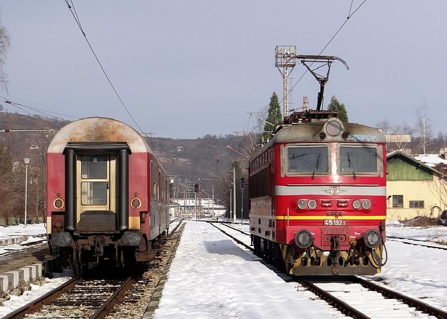 Bul Bdz Bulgarian Railways Berkovitsa Skoda 68e