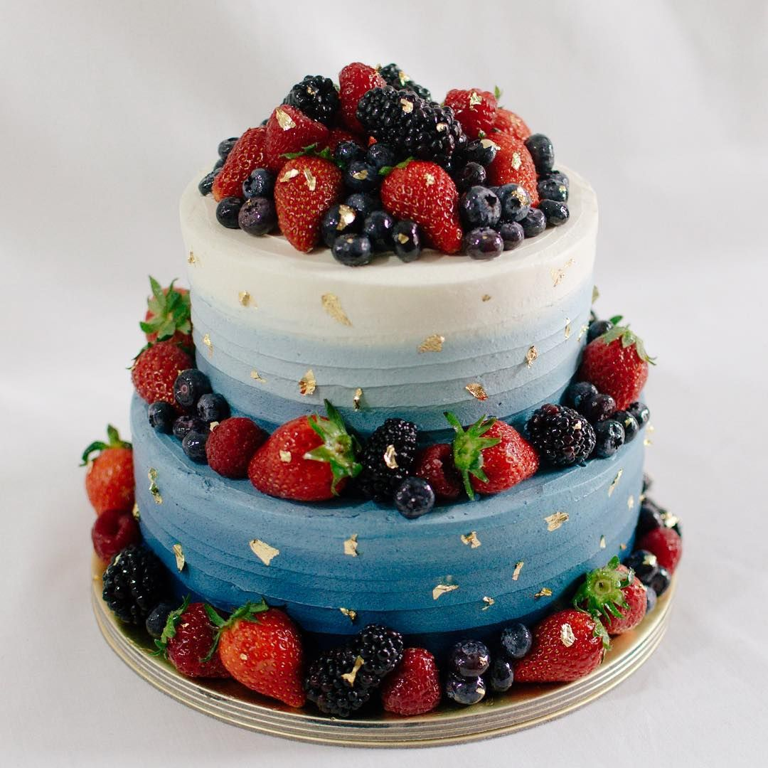 Navy Blue With Mixed Berries And Gold With Images Fresh Fruit