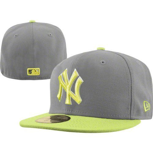 528cdf5971013 ... new york yankees new era 59fifty storm grey neon fitted hat by new era.  31.99