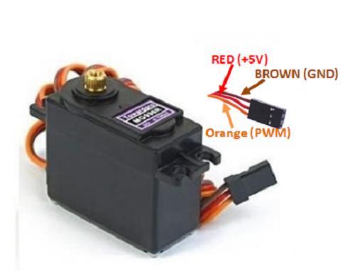 Mg996r Servo Motor Wiring Diagram
