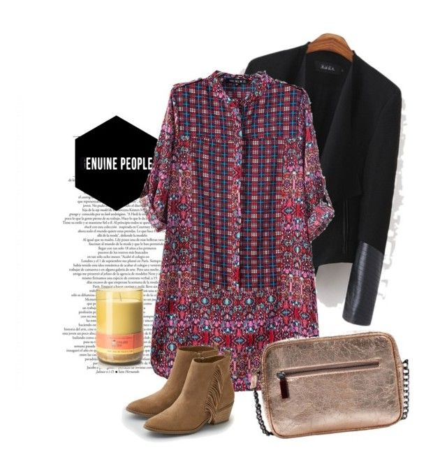 """""""Boho"""" by pamela-802 ❤ liked on Polyvore featuring Candle With a Cause, American Eagle Outfitters and genuinepeople"""