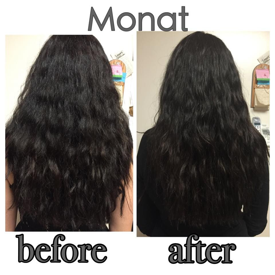 These before and after shots feature the Monat Balance