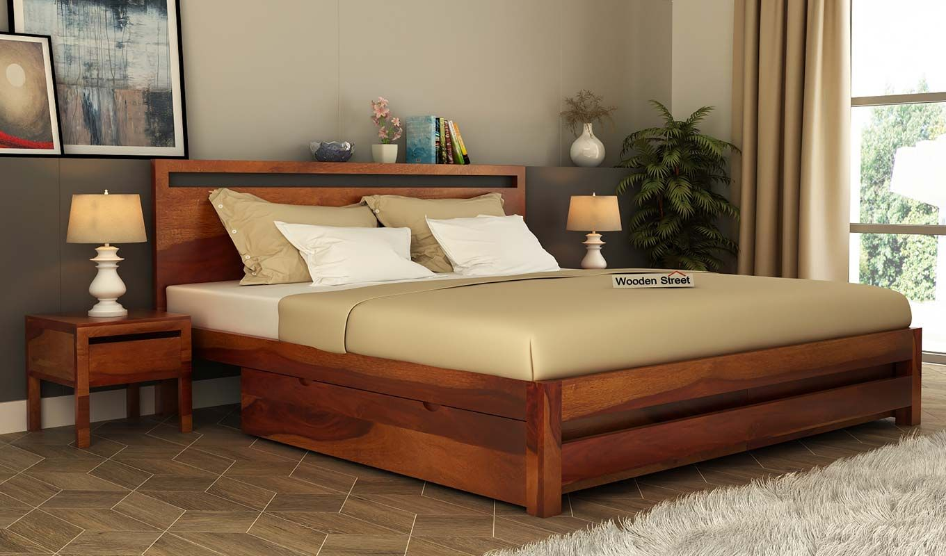 Buy Luxurious Wooden Beds Online In India Wooden Street Explore
