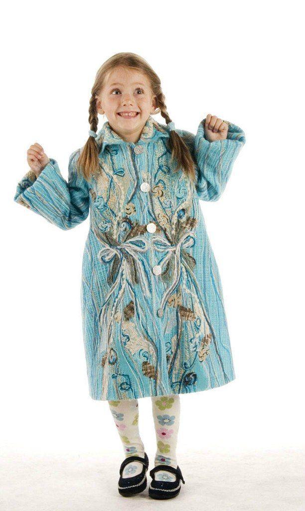 детские пальто для девочек 5