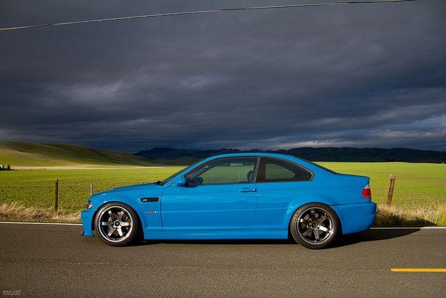 I Need This So Bad Laguna Seca Blue E46 M3 And Te37 S With