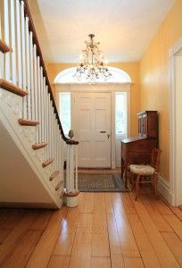 The federal house entrance federal style federal style - Federal style interior decorating ...