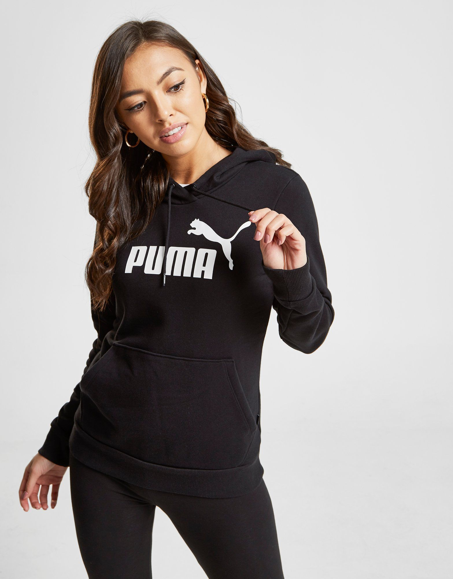 Buy Black PUMA Core Overhead Hoodie in 2020 Summer