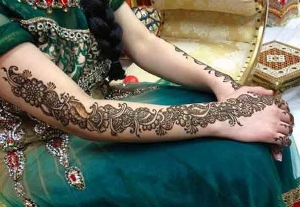 Mehndi Patterns For Arms : Best bridal mehndi designs for wedding