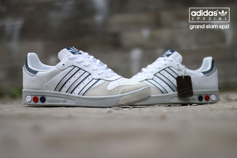 adidas Grand Slam SPZL WhiteNavy | Adidas | Sole Collector