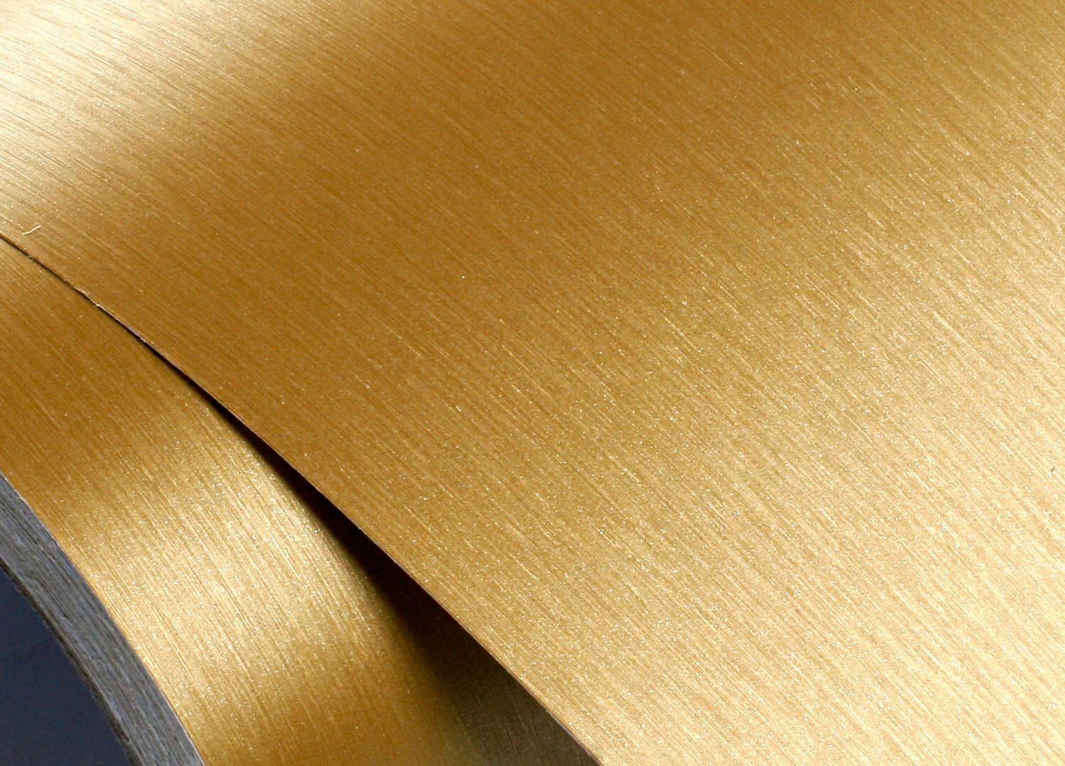 Peel & Stick Brushed Metal Pre-Pasted Contact Paper Self-adhesive Removable  Wallpaper [Gold : 50cm(1.64ft) X 300cm(9.84ft)]