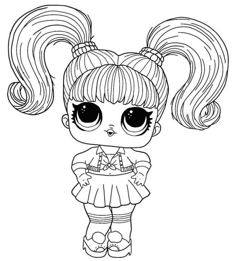 Dibujos Para Colorear Munecas Lol Imprimir En Formato A4 Desenhos Para Criancas Colorir Imprimir Desenhos Para Pintar Criancas Para Colorir