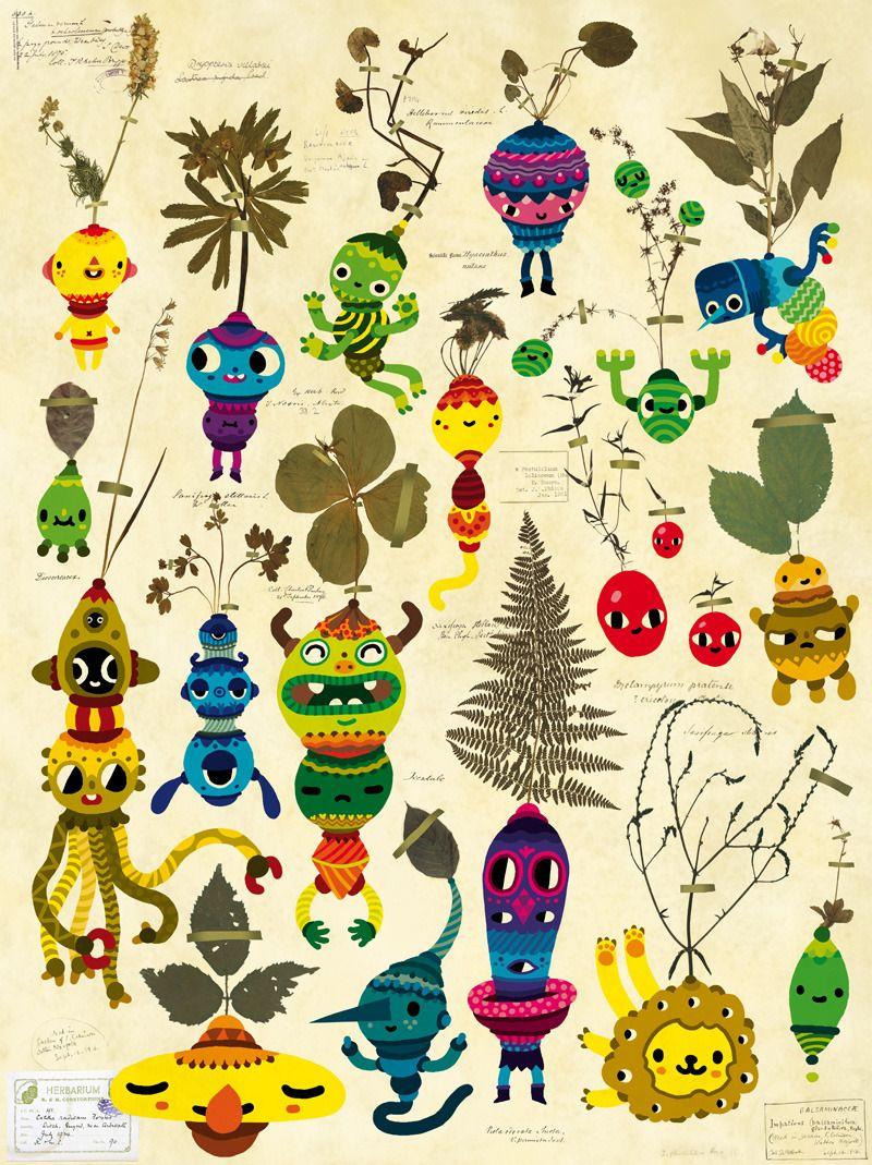 by daniel abensour | illustration | pinterest | 魚、插画、アート