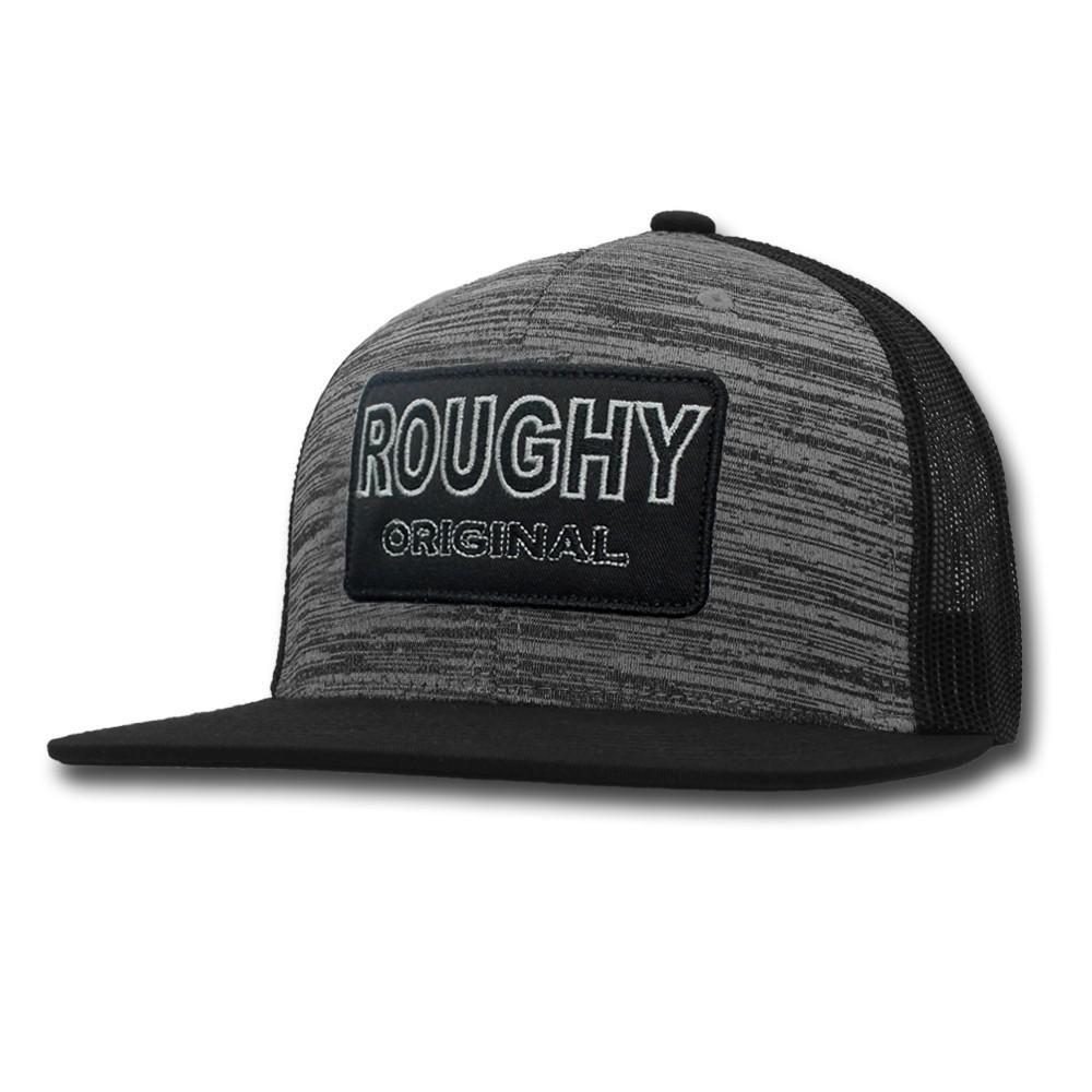 the best attitude beff2 ea281 Hooey Hat Grey   Black Space Dye Youth Snapback Ball Cap 4035T- GYBK-Y