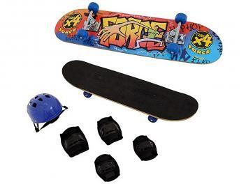 Kit Skate Force com Lixa e Acessórios - Xalingo 640.9