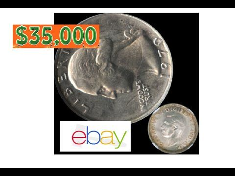 Old 1970 Quarter Selling For 35 000 On Ebay Struck 1941 Canadian 1970 S Mint Proof Error Misprint Rare Coins Worth Money Rare Coins Coins Worth Money