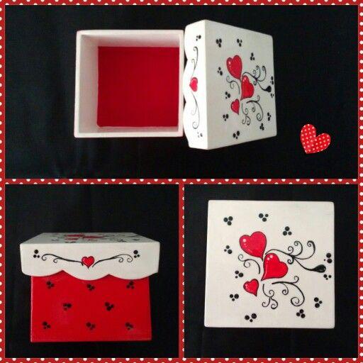 Cajitas en trupan cajas pinterest - Cajas de carton pequenas decoradas ...