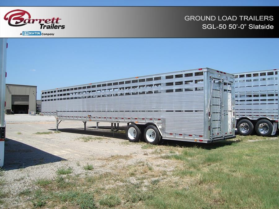 Pin on Ground Load Trailers