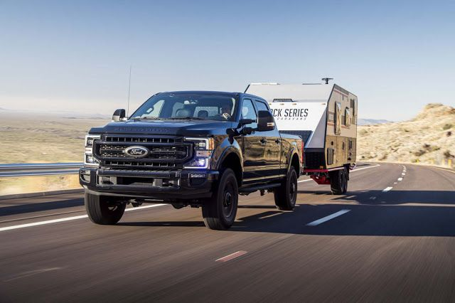 2020 Ford Super Duty F 250 Review In 2020 Ford Super Duty Diesel Trucks Fuel Efficient Trucks