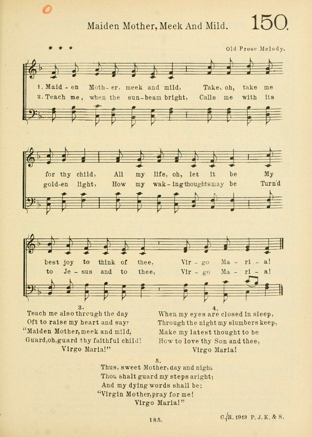 American Catholic Hymnal An Extensive Collection Of Hymns Latin