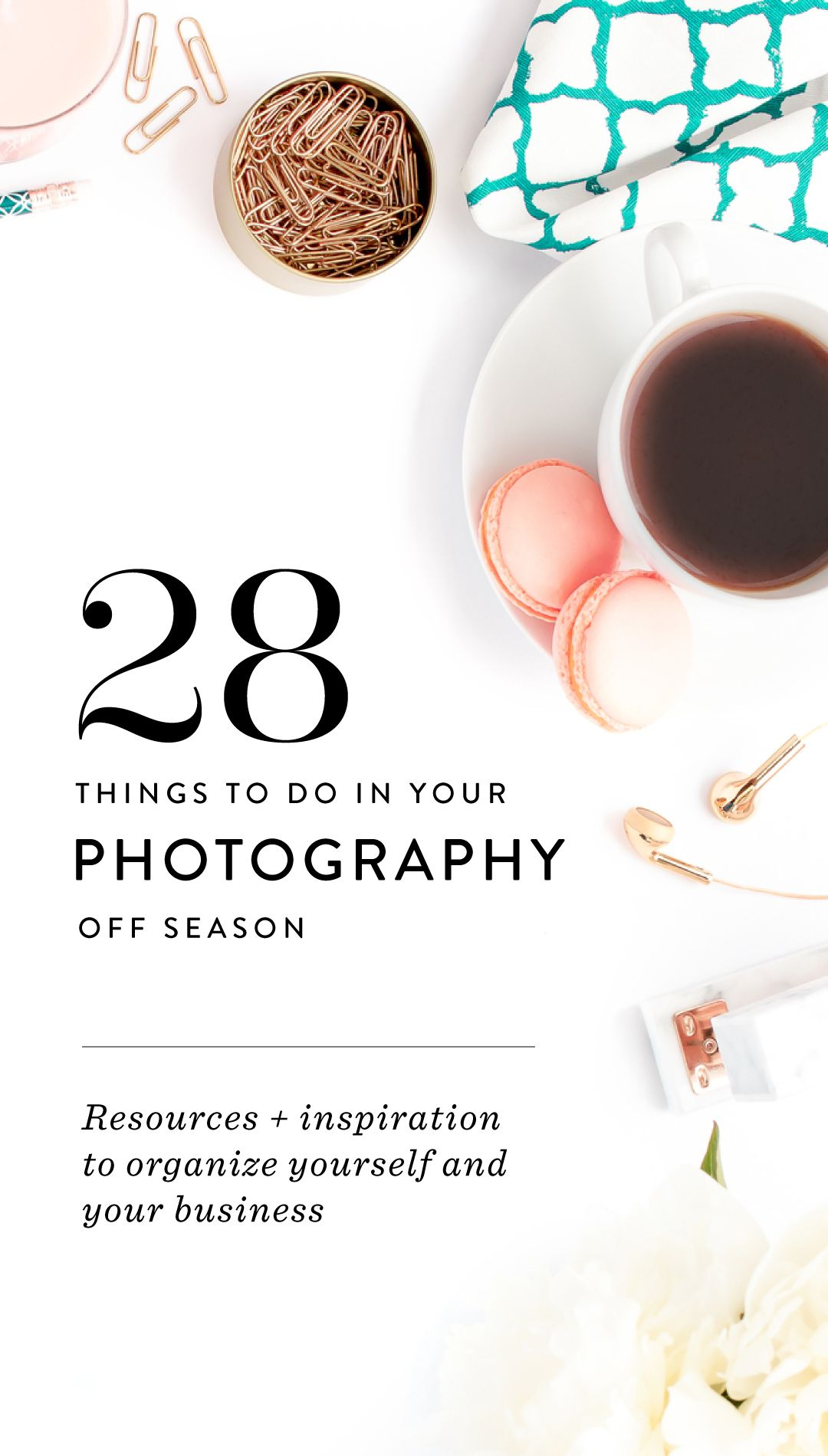 28 Things to Do in your Photography Off Season | Jasmine star