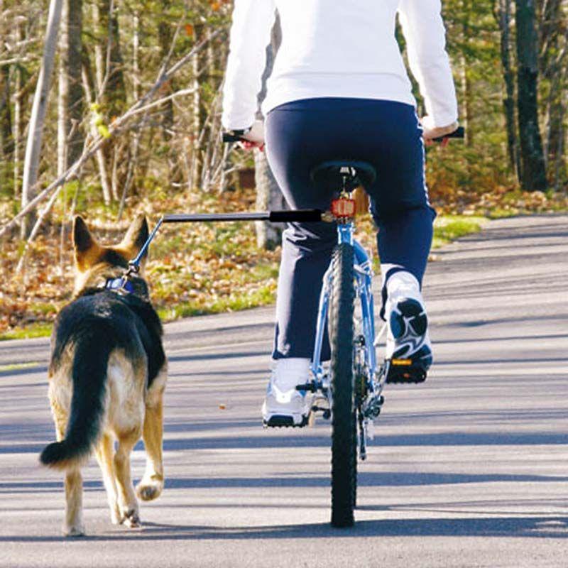 Bike Tow Leash Dog Bicycle Attachment Biking With Dog Dog Bike