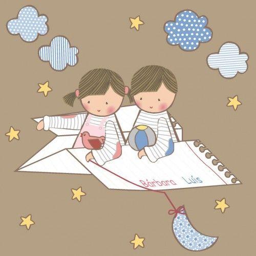 Vinilos infantiles avi n de papel vinilos infantiles for Vinilos infantiles personalizados